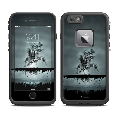 Lifeproof iPhone 6 Plus Fre Case Skin - Flying Tree Black