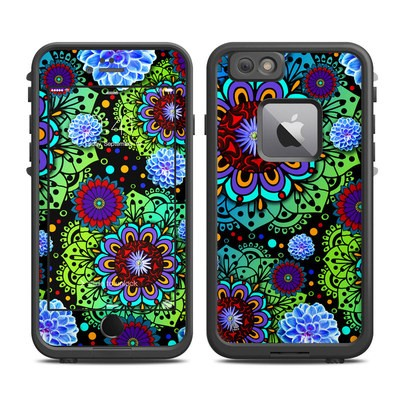 Lifeproof iPhone 6 Plus Fre Case Skin - Funky Floratopia
