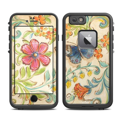 Lifeproof iPhone 6 Plus Fre Case Skin - Garden Scroll