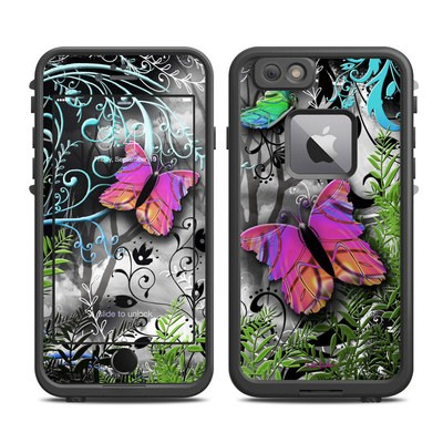 Lifeproof iPhone 6 Plus Fre Case Skin - Goth Forest
