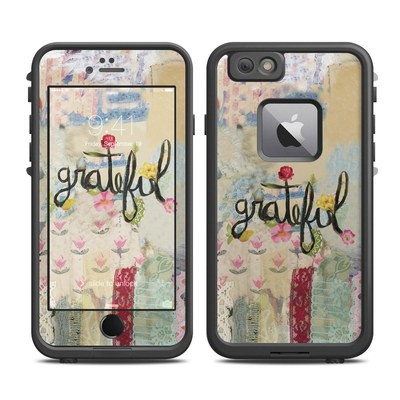 Lifeproof iPhone 6 Plus Fre Case Skin - Grateful