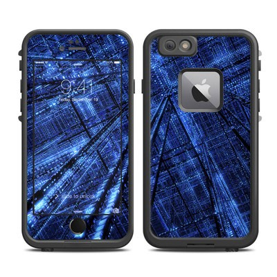 Lifeproof iPhone 6 Plus Fre Case Skin - Grid