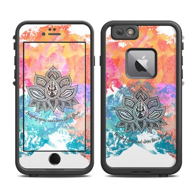 Lifeproof iPhone 6 Plus Fre Case Skin - Happy Lotus