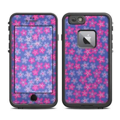 Lifeproof iPhone 6 Plus Fre Case Skin - Hibiscus