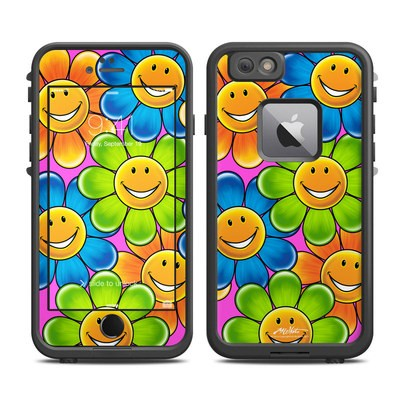 Lifeproof iPhone 6 Plus Fre Case Skin - Happy Daisies