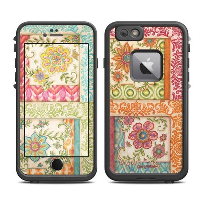 Lifeproof iPhone 6 Plus Fre Case Skin - Ikat Floral