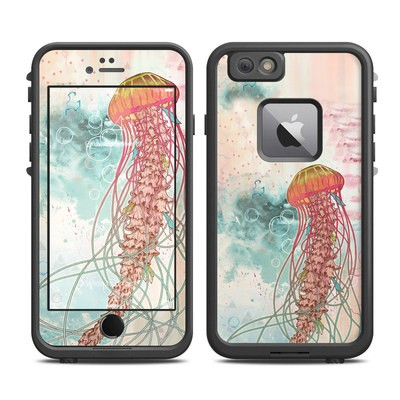 Lifeproof iPhone 6 Plus Fre Case Skin - Jellyfish