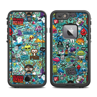 Lifeproof iPhone 6 Plus Fre Case Skin - Jewel Thief