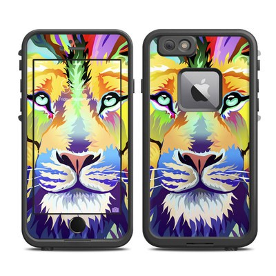 Lifeproof iPhone 6 Plus Fre Case Skin - King of Technicolor