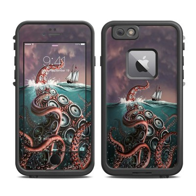 Lifeproof iPhone 6 Plus Fre Case Skin - Kraken