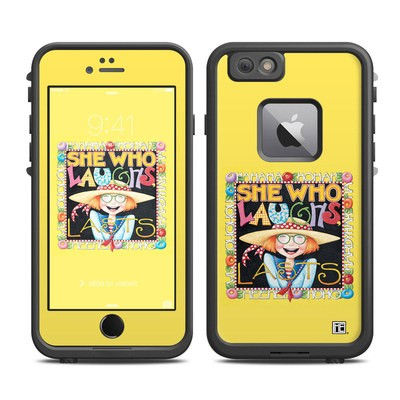 Lifeproof iPhone 6 Plus Fre Case Skin - She Who Laughs
