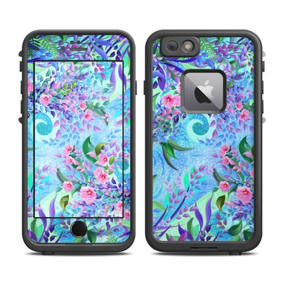 Lifeproof iPhone 6 Plus Fre Case Skin - Lavender Flowers