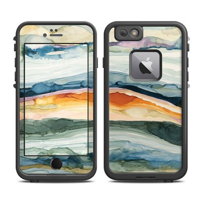 Lifeproof iPhone 6 Plus Fre Case Skin - Layered Earth