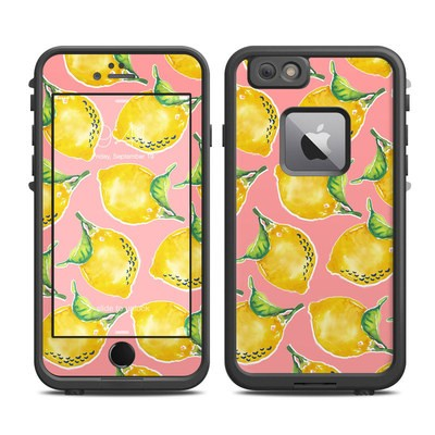Lifeproof iPhone 6 Plus Fre Case Skin - Lemon