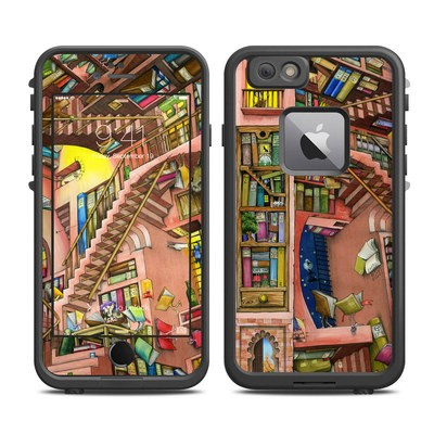 Lifeproof iPhone 6 Plus Fre Case Skin - Library Magic
