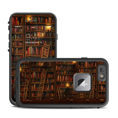Lifeproof iPhone 6 Plus Fre Case Skin - Library