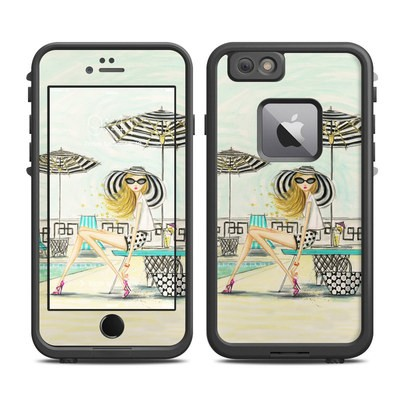Lifeproof iPhone 6 Plus Fre Case Skin - Luxe Retreat Poolside