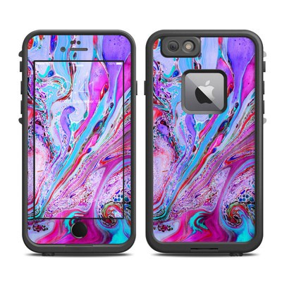 Lifeproof iPhone 6 Plus Fre Case Skin - Marbled Lustre