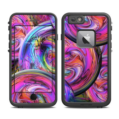 Lifeproof iPhone 6 Plus Fre Case Skin - Marbles