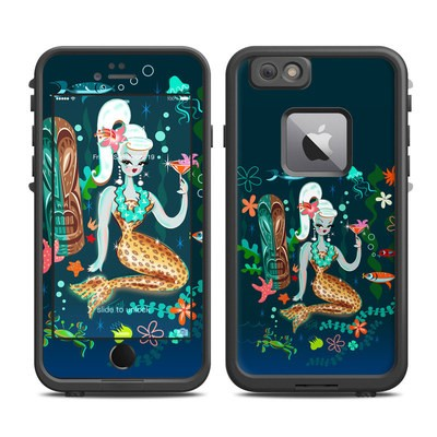 Lifeproof iPhone 6 Plus Fre Case Skin - Martini Mermaid