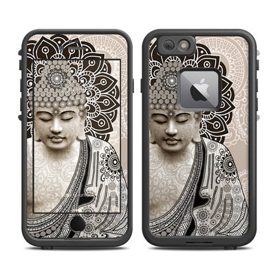 Lifeproof iPhone 6 Plus Fre Case Skin - Meditation Mehndi