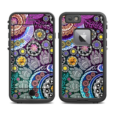 Lifeproof iPhone 6 Plus Fre Case Skin - Mehndi Garden