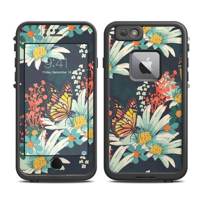 Lifeproof iPhone 6 Plus Fre Case Skin - Monarch Grove