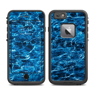 Lifeproof iPhone 6 Plus Fre Case Skin - Mossy Oak Elements Agua