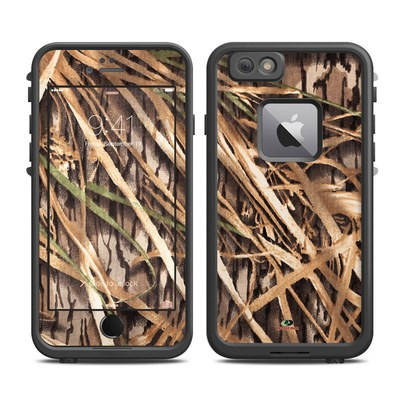 Lifeproof iPhone 6 Plus Fre Case Skin - Shadow Grass