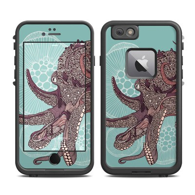 Lifeproof iPhone 6 Plus Fre Case Skin - Octopus Bloom