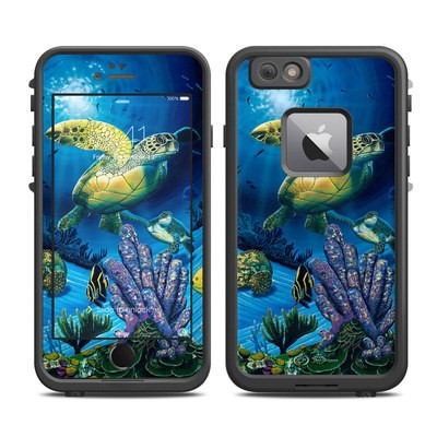 Lifeproof iPhone 6 Plus Fre Case Skin - Ocean Fest