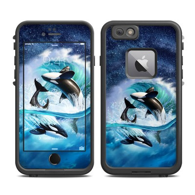 Lifeproof iPhone 6 Plus Fre Case Skin - Orca Wave