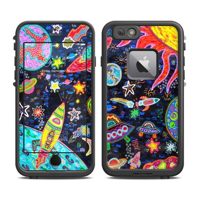 Lifeproof iPhone 6 Plus Fre Case Skin - Out to Space
