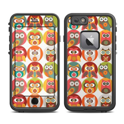 Lifeproof iPhone 6 Plus Fre Case Skin - Owls Family