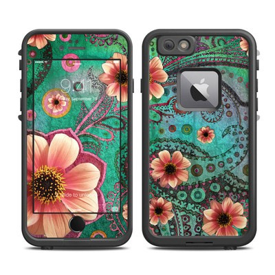 Lifeproof iPhone 6 Plus Fre Case Skin - Paisley Paradise