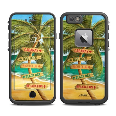 Lifeproof iPhone 6 Plus Fre Case Skin - Palm Signs