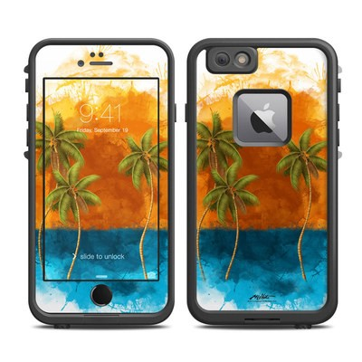 Lifeproof iPhone 6 Plus Fre Case Skin - Palm Trio