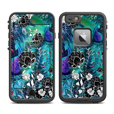 Lifeproof iPhone 6 Plus Fre Case Skin - Peacock Garden