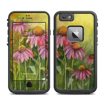 Lifeproof iPhone 6 Plus Fre Case Skin - Prairie Coneflower