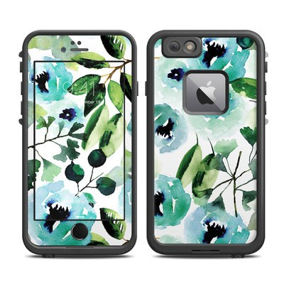 Lifeproof iPhone 6 Plus Fre Case Skin - Peonies