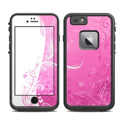 Lifeproof iPhone 6 Plus Fre Case Skin - Pink Crush