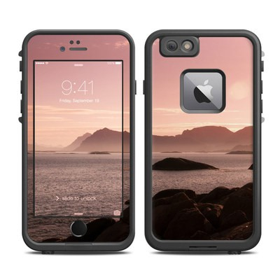 Lifeproof iPhone 6 Plus Fre Case Skin - Pink Sea
