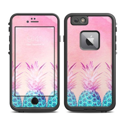 Lifeproof iPhone 6 Plus Fre Case Skin - Pineapple Farm