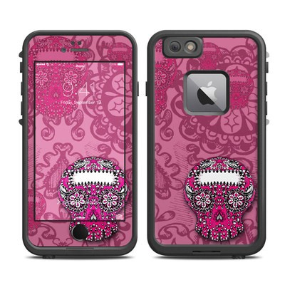 Lifeproof iPhone 6 Plus Fre Case Skin - Pink Lace