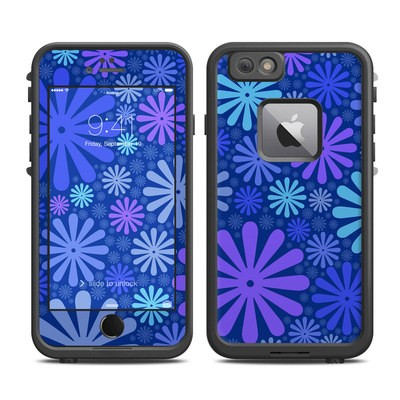 Lifeproof iPhone 6 Plus Fre Case Skin - Indigo Punch