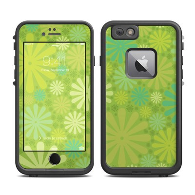 Lifeproof iPhone 6 Plus Fre Case Skin - Lime Punch