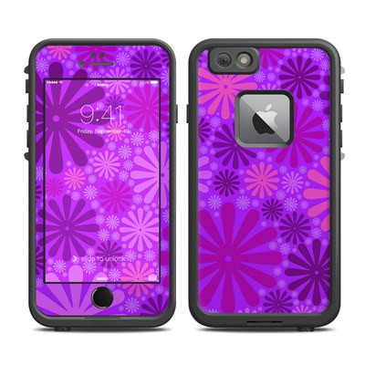 Lifeproof iPhone 6 Plus Fre Case Skin - Purple Punch