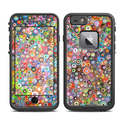 Lifeproof iPhone 6 Plus Fre Case Skin - Round and Round