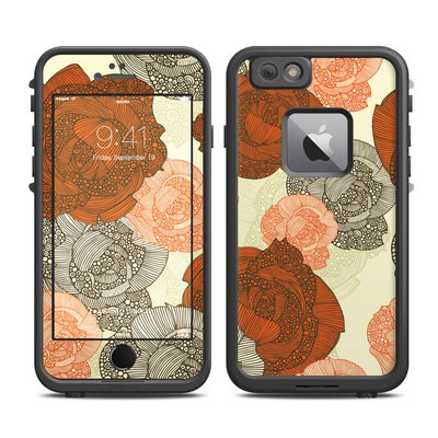 Lifeproof iPhone 6 Plus Fre Case Skin - Roses