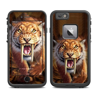 Lifeproof iPhone 6 Plus Fre Case Skin - Sabertooth